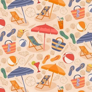 Beach Day - Small Scale