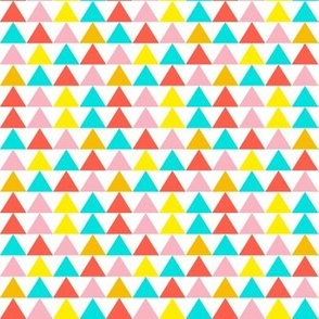 Chain of colored triangles