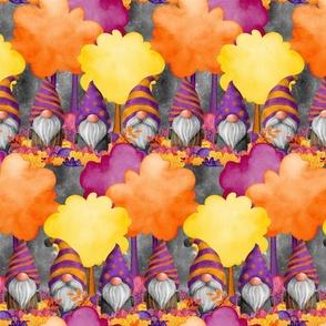 ROWS HALLOWEEN GNOMES GREY FLWRHT