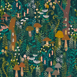 The Small  Forest World