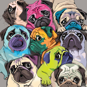 dog pattern design