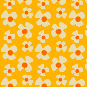 new floral daisy yellow