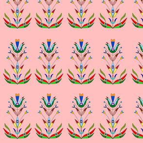 Pink Dakota florals