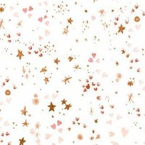 Heart Splendor - blush rose gold