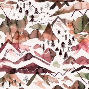 Mountains Cooper Brown