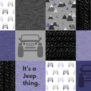 Jeep thing - purple