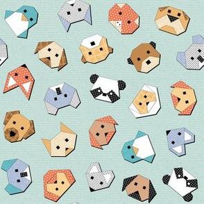 Origami Animal Faces