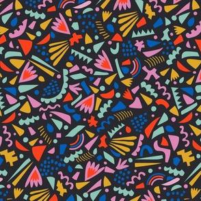 Geometric Confetti