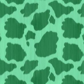 Green Cowhide