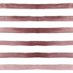 Brown hand-painted watercolor stripes