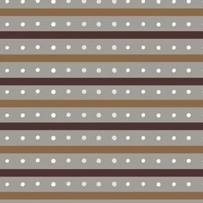 Chunky Orange Stripes