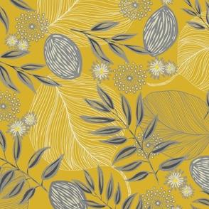 Grey mustard woodland