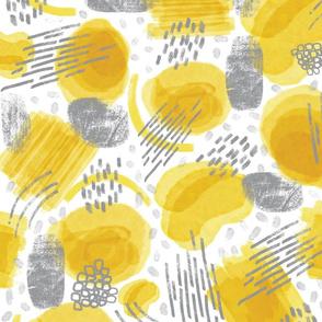 Abstract Joy - Yellow