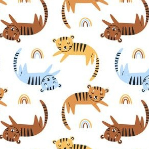 Cute safari nursery pattern