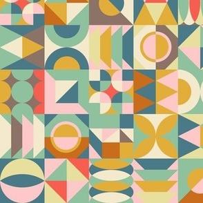 geometric patchwork