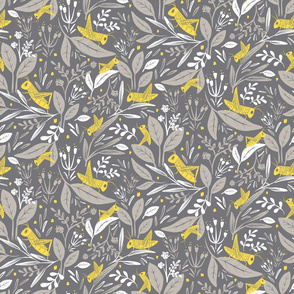 Yellow Grasshoppers