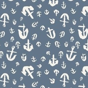 WHIMSY ANCHORS IN OCEAN