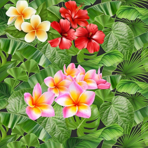 Hawaiian Rainforest Flowers