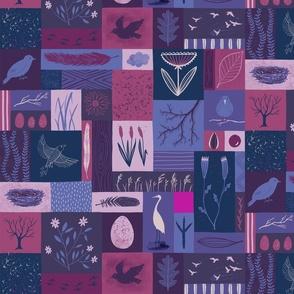 Bird Cabinet of Curiosities Repeat