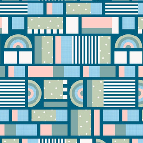 Modern Abstract Patchwork