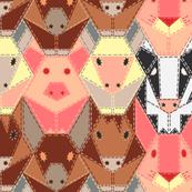 Hand-Stitched Farm Animals
