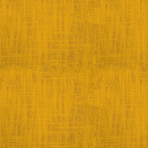 Squash Yellow Linen Textured Solid