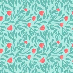 Minty Floral Nest