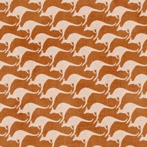 """Aussie Joeys Mob (beige - copper) 9"""""""
