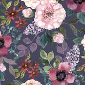 Lazarra Floral Purple
