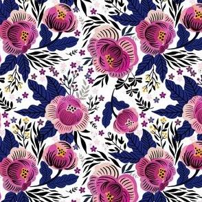 Hand-Drawn Florals