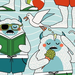 An Abominable Beach Day // LARGE
