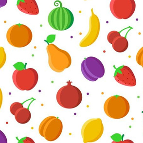 Fruits white