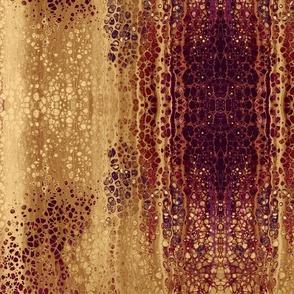 Big Diamond Pour Painting Kaleidoscope gold red bright