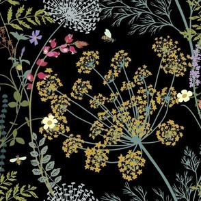 The scent of wild grasses  (black)