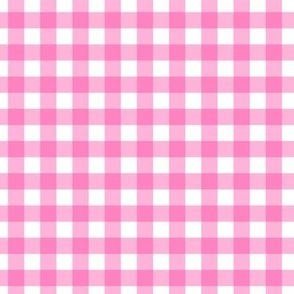 classic checkered pink