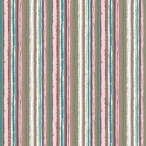 Stripes in cotton candy  and bronze