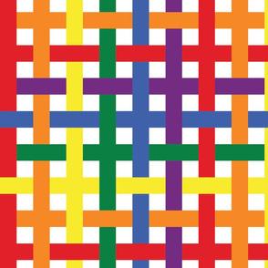 Rainbow Plaid - Large (Rainbow Collection)