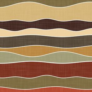magic dunes - abstract earthy waves - roycroft hills
