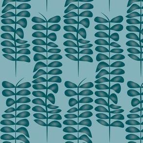Seaweed blue green