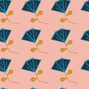 Floral Vintage Inspired Pastel Pattern
