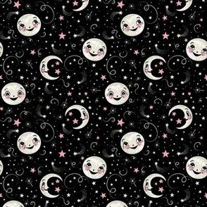 Luna Loves Stars Above on Black small