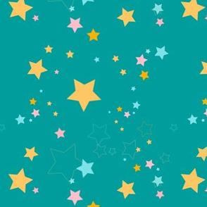 Sweet Stars - Teal