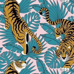 tropical tiger (large scale)
