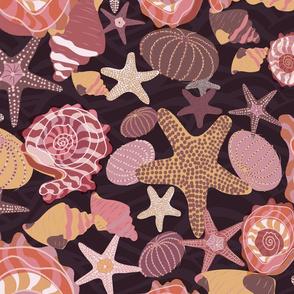 Under the Ocean Waves-Peony Palette-Dark