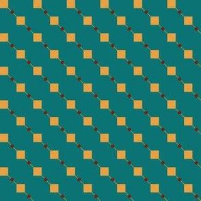 Mini Squares with Diagonals
