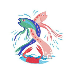 dancing fishes