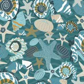 Under the Ocean Waves-Riptide Palette-Dark-XL scale