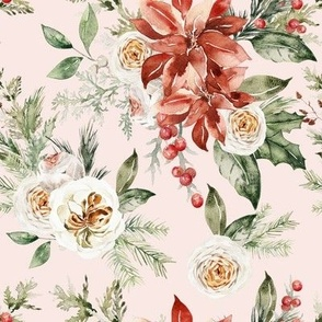 Christmas Flora / Blush