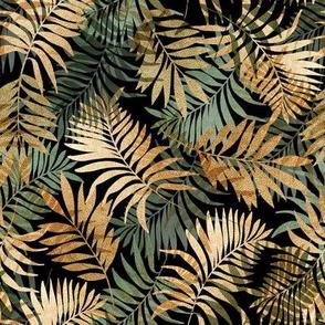 Tropical shimmer, leaves,