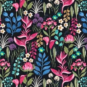 Moody Tropical Jewel Garden